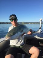 Gareth from Trout Hunting NZ. First time SWF, 5 casts later!