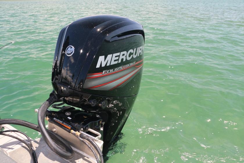 mercury marine, king tide salt fly, fishing boat, fishing guide