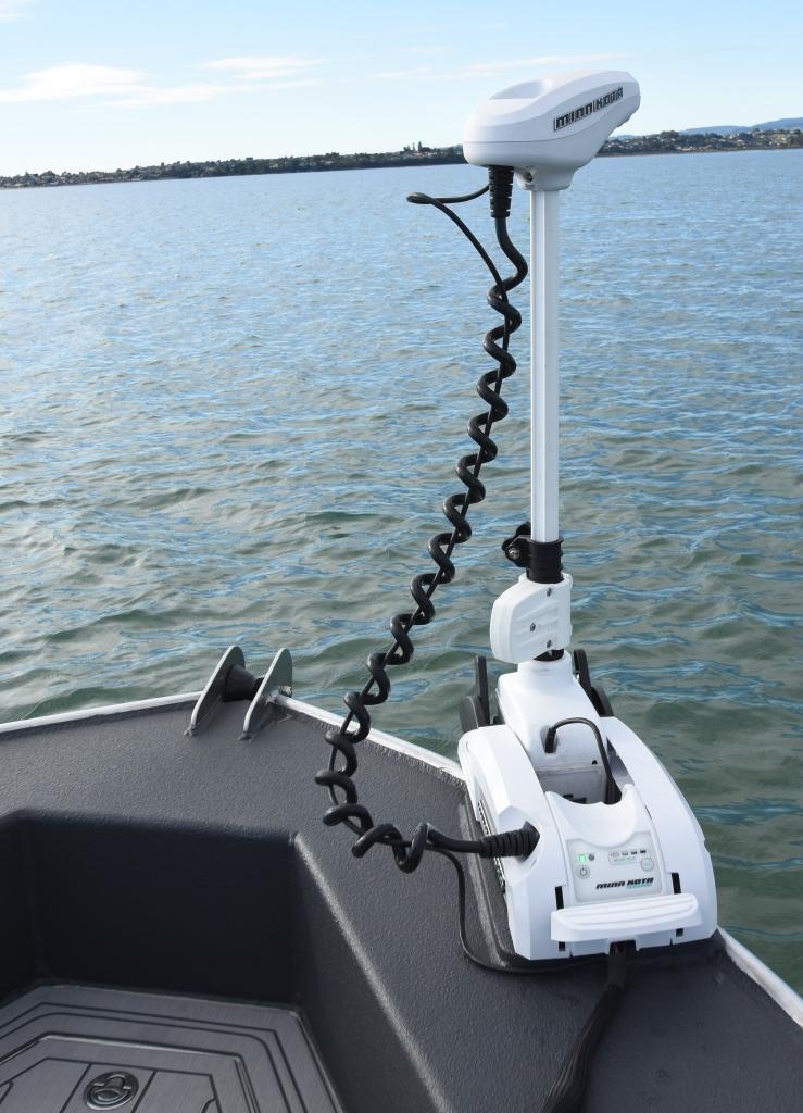 Minn Kota, electric motor, boat, centre console, fc boats, Humminbird, one boat network